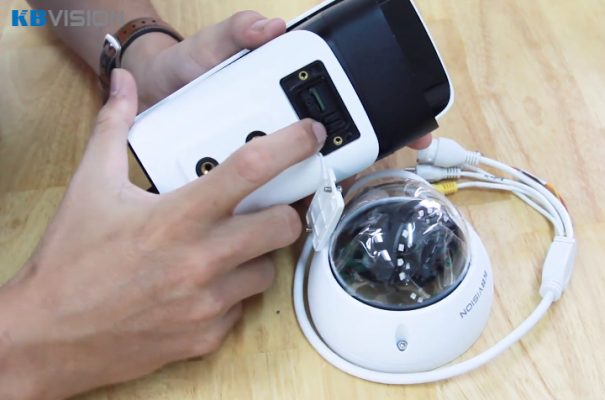 Hướng dẫn reset pass camera IP KBVISION