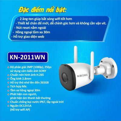 Camera không dây KN-2011WN