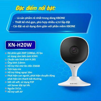 Camera không dây KN-H20W