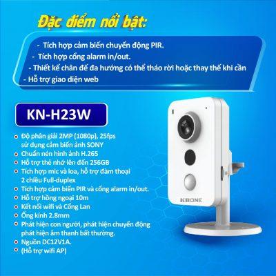 Camera gia đình không dây KN-H23W