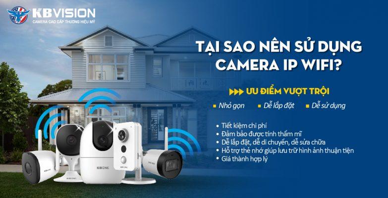 Lắp đặt và sử dụng camera IP WIFI
