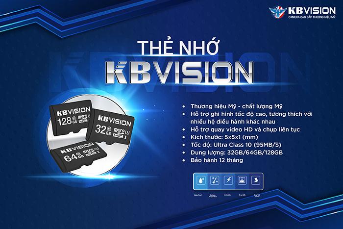 thẻ nhớ KBVISION