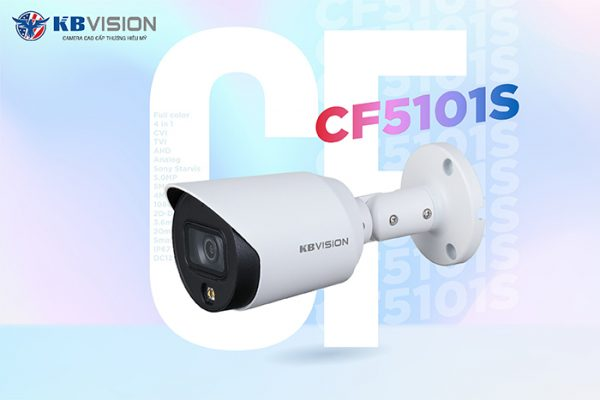 Camera dạng thân Full Color CF5101s KBvision