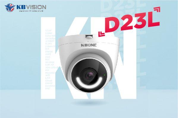 Camera quan sát giá rẻ dạng Dome KBvision - KBONE D23L tại Hoàn Kiếm