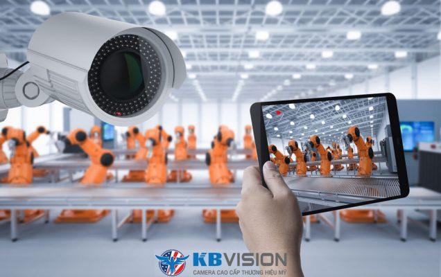 Tư vấn lắp đặt camera quan sát KBvision cho nhà xưởng, công trường tại quận Ba Đình